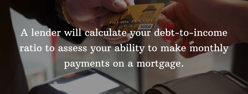 Your Debt To Income Ratio Should Be Low