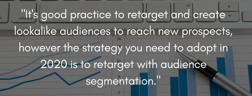 Retarget to profit from Facebook ads 2020